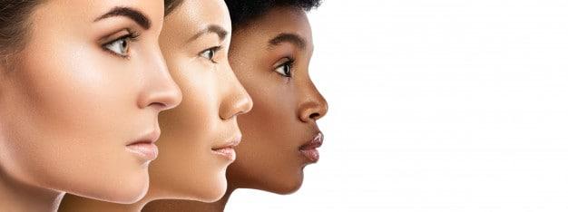 Botox & Fillers: different-ethnicity-women-caucasian-african-asian